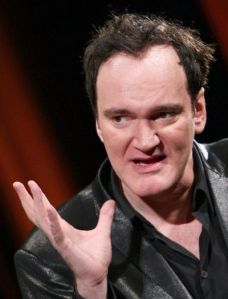 Film Maker and Director Quentin Tarantino of Kill Bill