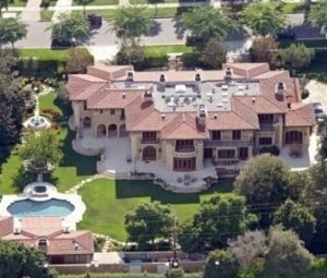 Jennifer Lopez and Marc Anthony's LA digs